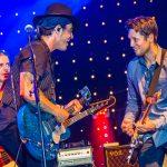 Cahors Blues Festival - Nicolas Bellanger, Manu Lanvin & Aynsley Lister © Marylène Eytier
