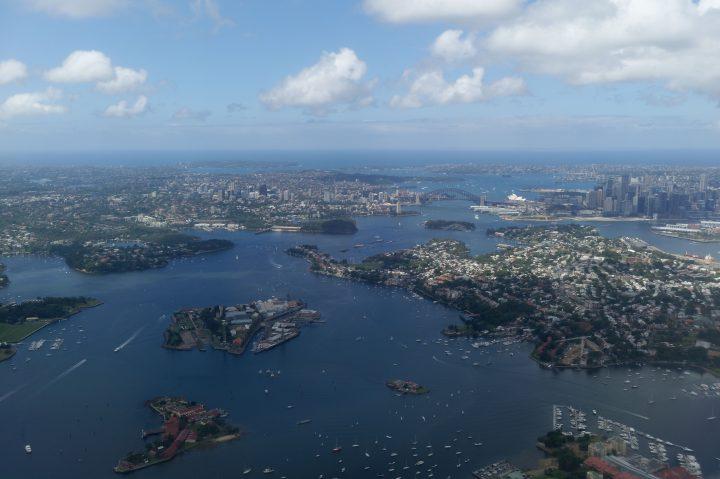 Sydney par avion